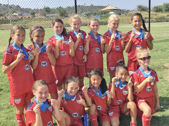 AYSO Pacific United Girls 2008 Team Won The Championship Over Aug 18 19 Weekend With 3 2 In Penalty Kicks 7 Of Go To Los Al Schools