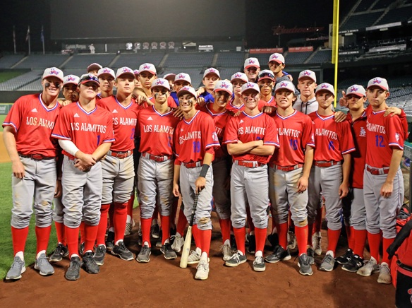 Los Alamitos rolls Esperanza at Angel Stadium