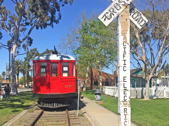 Seal Beach Red Car purchased by SB Lions